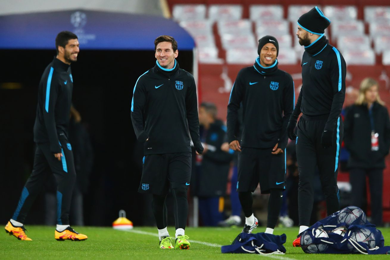 Barcelona Team Training Sessions images