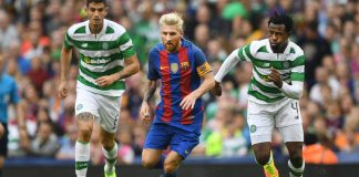 Barcelona vs Celtic match