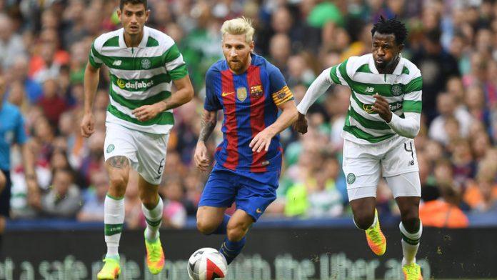 Barcelona vs Celtic match