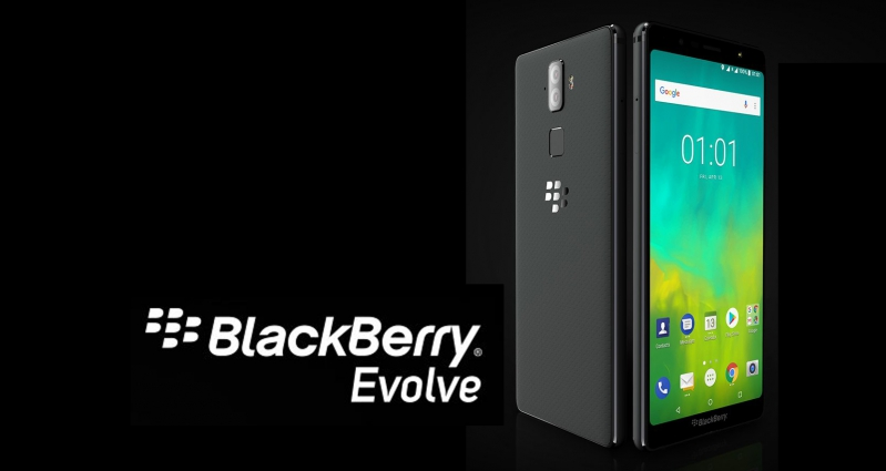blackberry evolve specification features