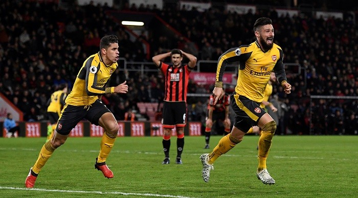 Bournemouth vs Arsenal Match Highlights Best Goals Full Details