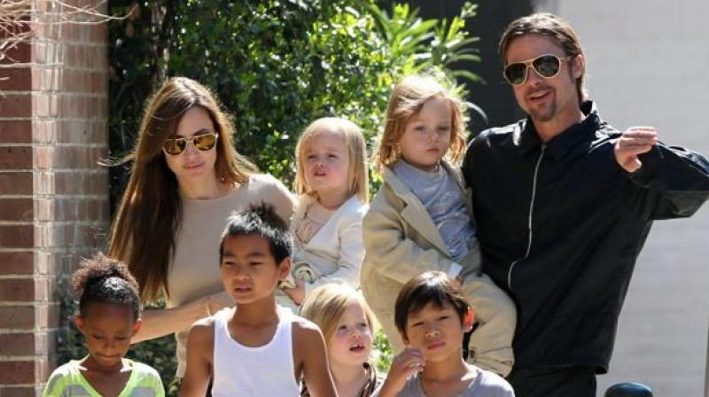 rad Pitt Files for Joint Custody of Six Children With Angelina Jolie