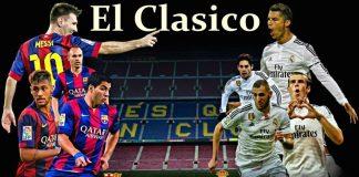 El Clasico FC Barcelona vs Real Madrid 2016