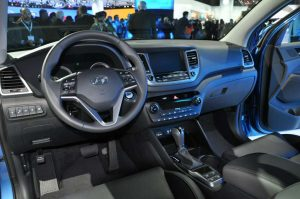 Hyundai Tucson 2016 India  Interior