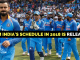 India Cricket Team Schedule 2018, Upcoming T20s, ODIs Test Matches