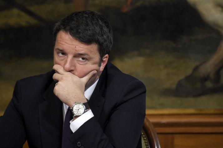 Italy Prime Minister Matteo Renzi