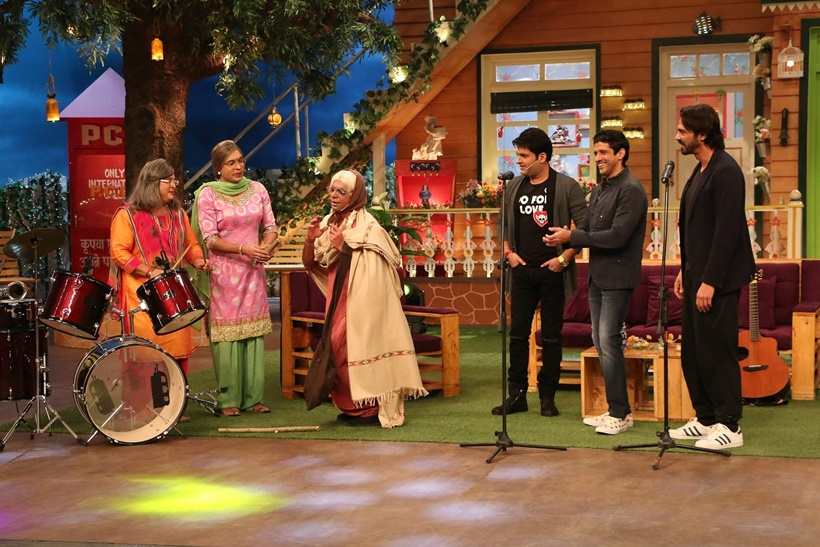 Kapil Sharma Show Rock On 2 Cast Images wallpapers pics photos