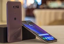 LG V30 camera design battery life