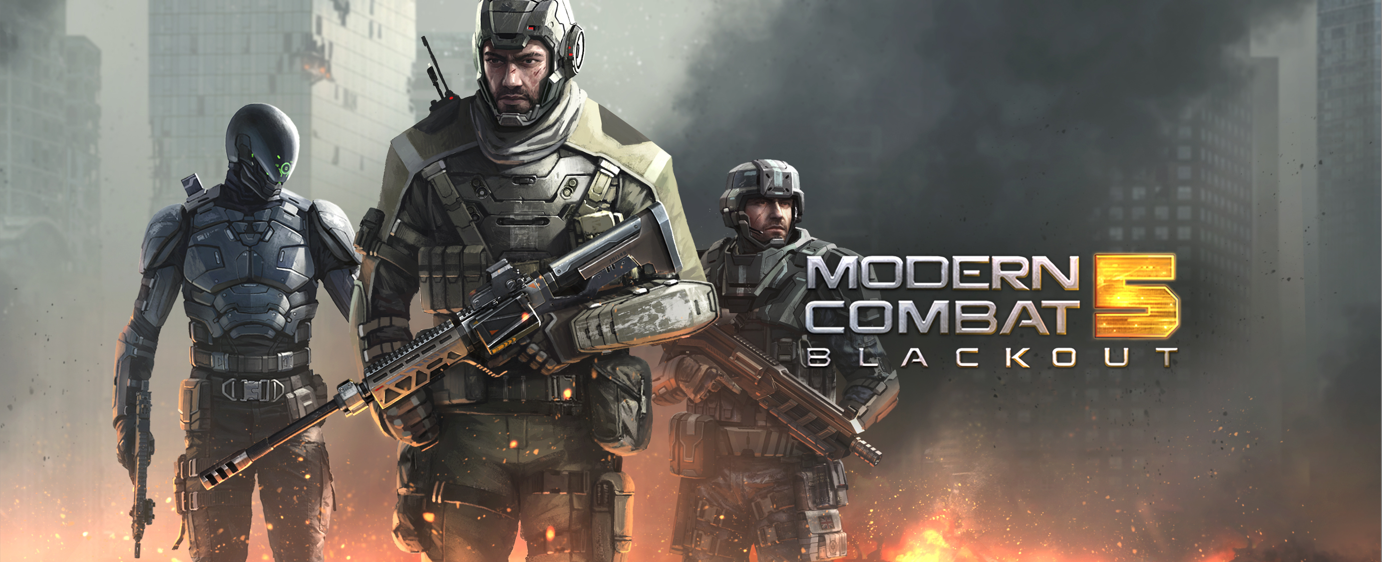 Modern Combat 5 Blackout android game 2016