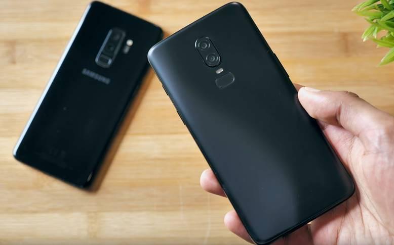 OnePlus 6 Samsung Galaxy S9 Plus Compare