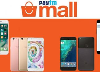 Paytm Mall Freedom Cashback Sale