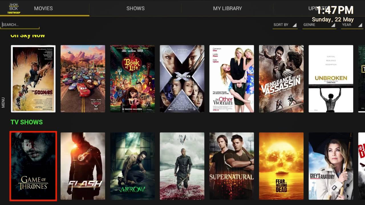 Showbox HD movie apps 2018