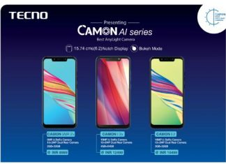 Tecno Camon iAir 2+, i2, i2X Specification, Features