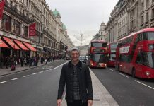 Toni Kroos spends Christmas in London