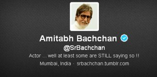 Amitabh Bachchan Enter's In Top 50 Most Twitter Followers In World