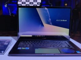 asus zenbook pro 15 specification
