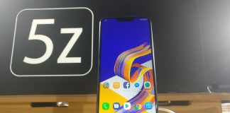 asus zenfone 5z specification and features
