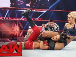 charlotte vs bayley wwe monday night raw