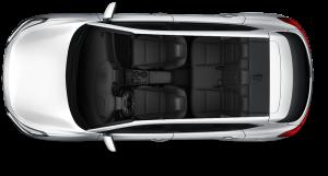 hyundai tucson interior seat design