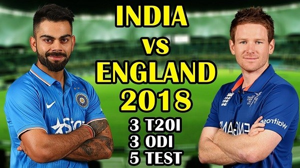 india tour of england 2018 schedule