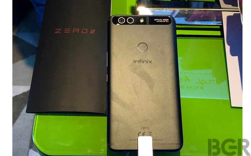 infinix zero 5 dual camera smartphone