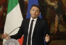 italian pm matteo renzi resigns