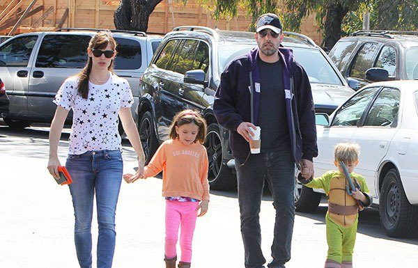 Ben Affleck & Jennifer Garner Come's Together Once Again