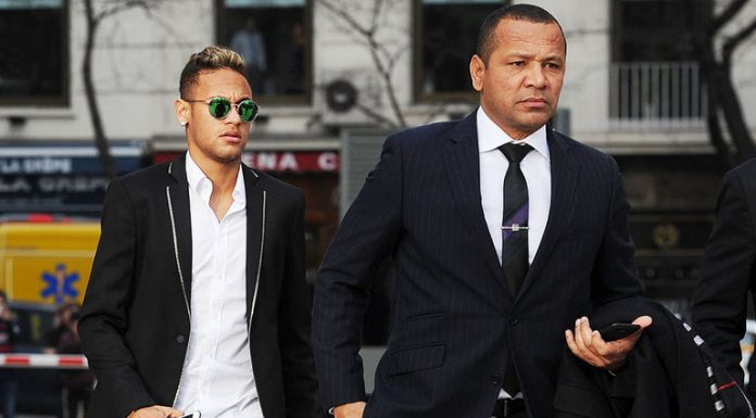 neymar outside court neymar da silva santos