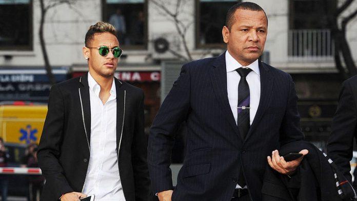 neymar outside court neymar da silva santos