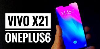 oneplus 6 vs vivo x21 compare