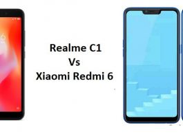 realme c1 vs redmi 6