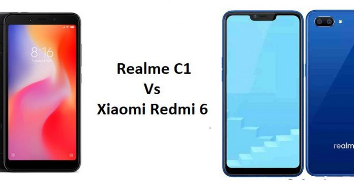 realme c1 vs redmi 6