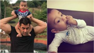 Salman khan images with Ahil khan