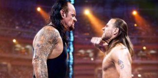 undertaker vs shawn michaels
