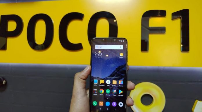 xiaomi poco f1 specification